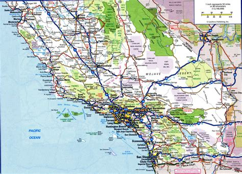 california map of highways california highway
