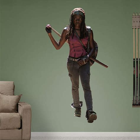 Amcwalkingdead Com Sweepstakes - michonne wall decal shop fathead 174 for the walking dead decor
