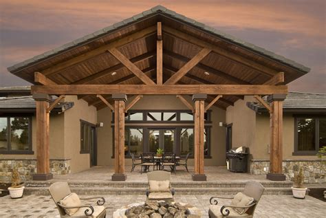 wood patio wooden patio covers give high aesthetic value and best
