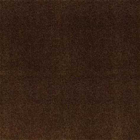 trafficmaster ribbed brown texture      carpet