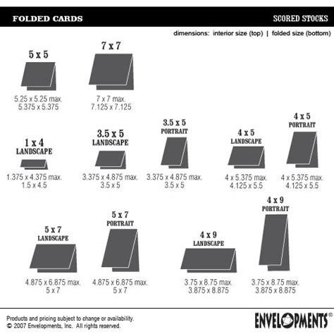 a2 size note card template envelopments card sizes scrapbook tarjetas