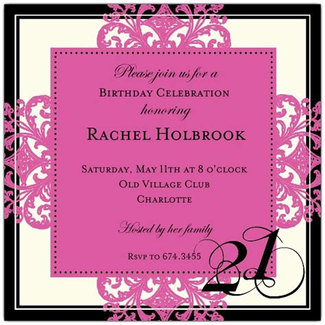 21st birthday invitation wording sles 21st birthday invitation wording