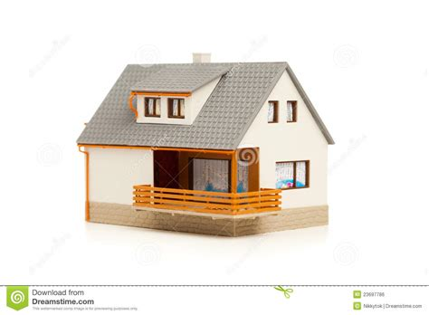 Construction House Plans by Simple House Royalty Free Stock Image Image 23697786