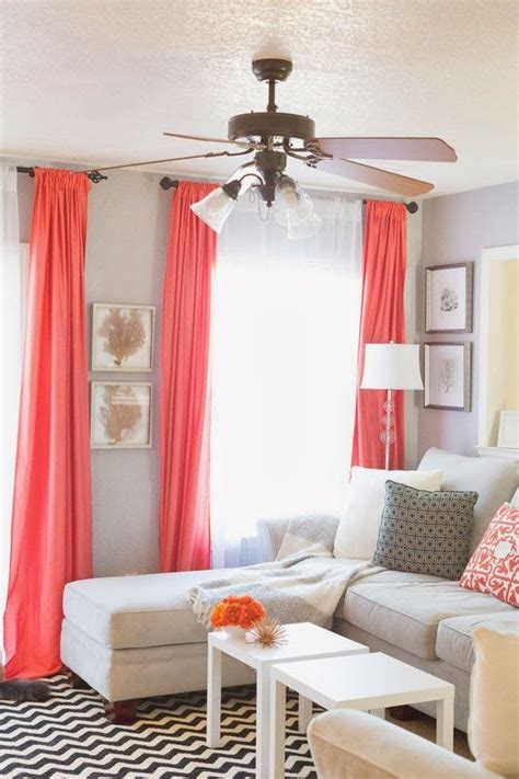 coral bedroom curtains 25 best ideas about coral curtains on pinterest peach