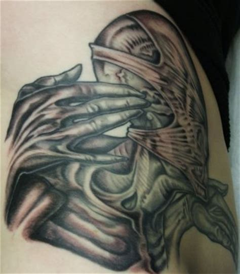 biomechanical tattoo designs free download biomechanical tattoos