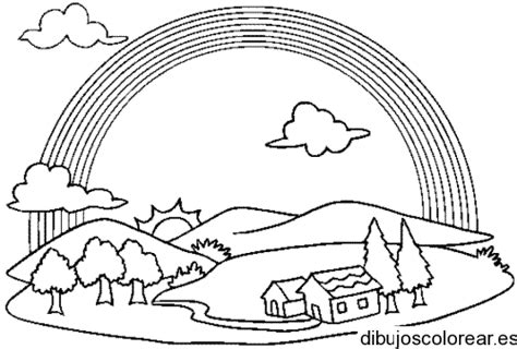imagenes para dibujar un paisaje dibujos de paisajes dibujos para colorear