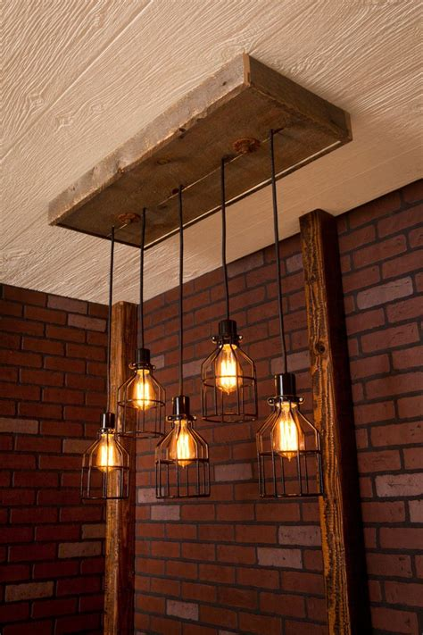 Rustic Industrial Lighting by Best 25 Industrial Lighting Ideas On