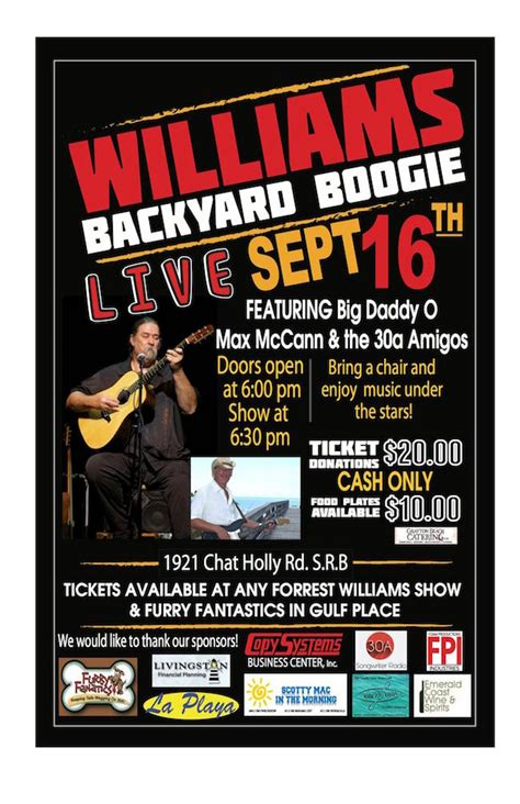 backyard boogie 3 for 30a backyard boogie oysters and brunch in inlet beach 30a food and wine