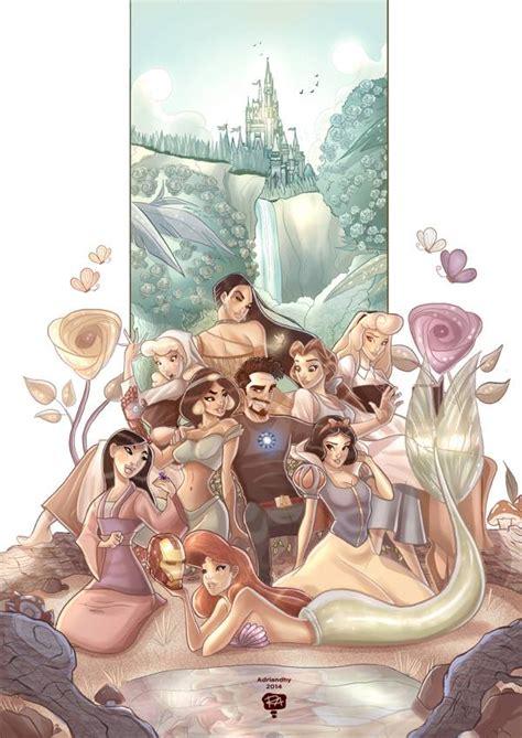 tony stark flirting disney princesses geektyrant