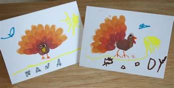 thanksgiving craft fingerprint turkey cards the charmed