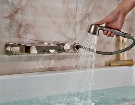 montare rubinetto montare il rubinetto della vasca da bagno idraulico fai