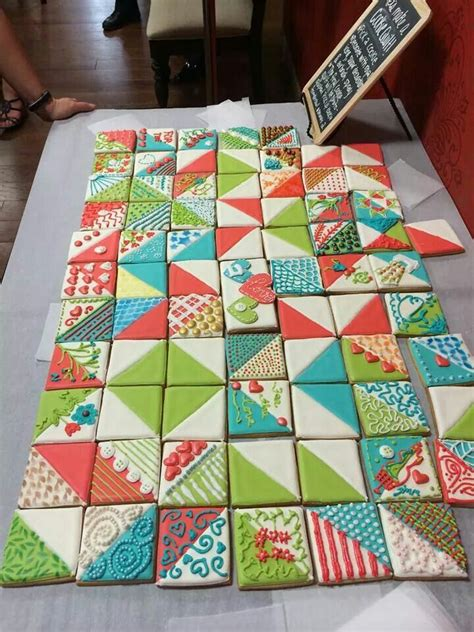 Quilts Like by Cookies Decorated Like Quilt Blocks Cookies Oh Yeah