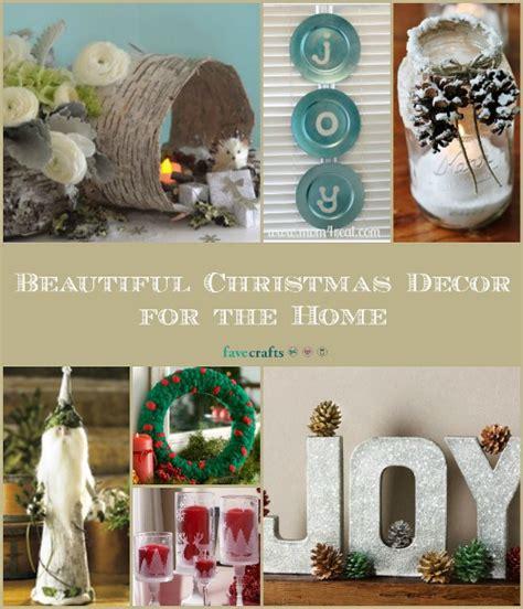 Christmas Home Decor Crafts by Beautiful Christmas Decor Favecrafts Com