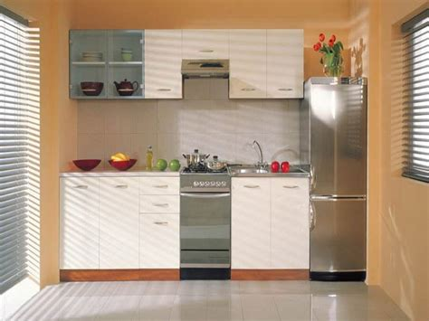 Small Kitchen Cabinets Cool Ideas For Small Space Small Kitchen Furniture