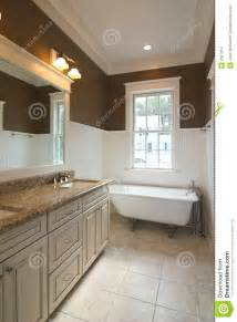 Images Of Beadboard - bathroom with clawfoot tub stock images image 2367914