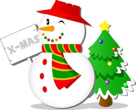 christmas snowman vector free vector in adobe illustrator