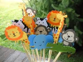 animal themed decorations a pinch of pixie dust it s a zoo out here