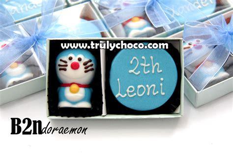 Coklat Karakter Gift cokelat karakter doraemon trulychoco handmade chocolate