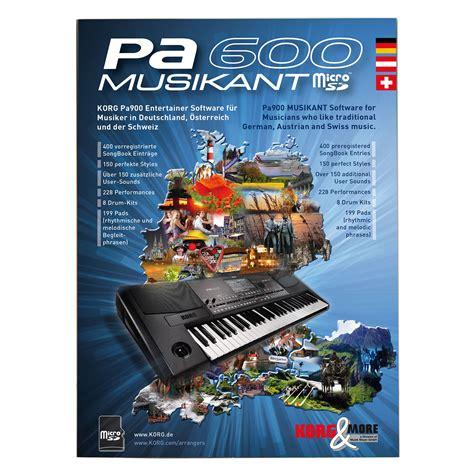 Keyboard Korg Pa 600 korg pa 600 musikant software 171 keyboard accessories