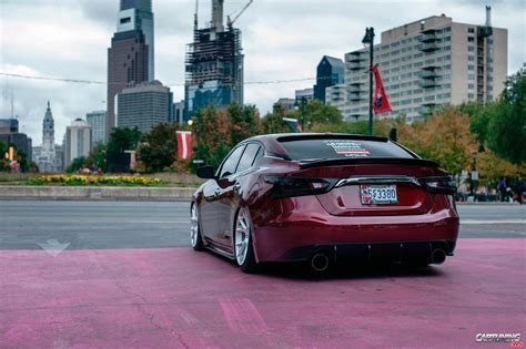 stanced nissan maxima stance nissan maxima rear