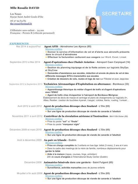 Exemple Lettre De Motivation Sncf Modele Cv D Escale Cv Anonyme