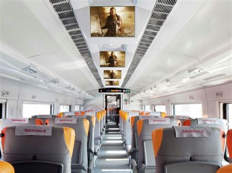 carrozza cinema italo sui treni italo in contemporanea con i cinema tom s
