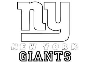 ny color ny giants helmet coloring pages