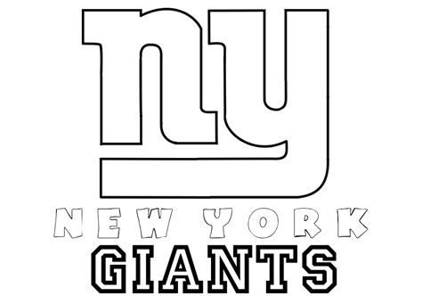 search results for ny giants coloring page black