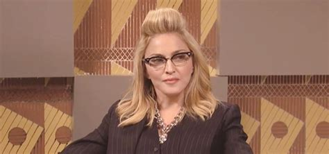 Madonnas Televised Appearance by Madonna S Appearance On Saturday Live