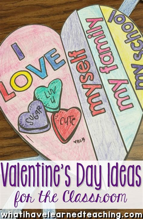 valentines day ideas for students s day ideas for the classroom