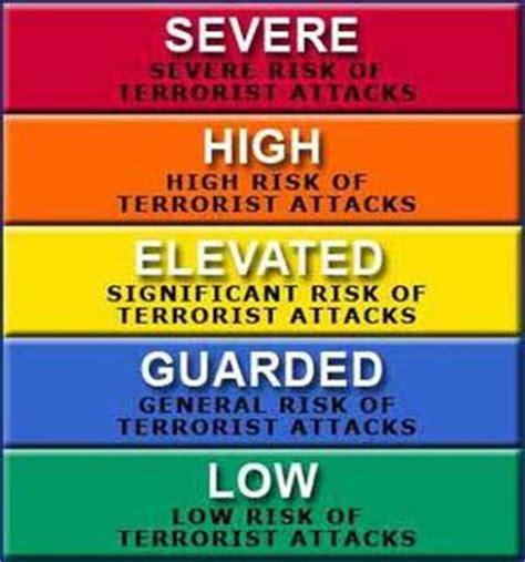 terror alert colors u s ditching terror color warning system homeland