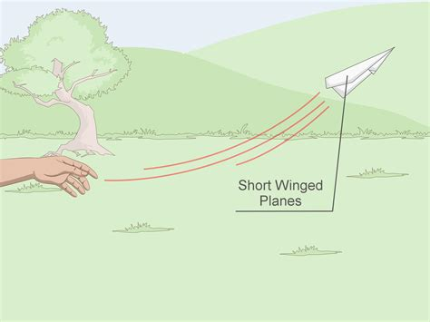 Ways To Make A Paper Airplane Fly Farther - how to improve the design of any paper airplane 12 steps