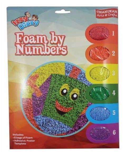 Dissy Foam izzy n dizzy chanukah foam by numbers