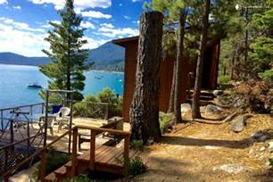 log cabin for rent on meeks bay lake tahoe
