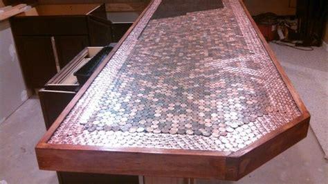 penny top bar building a penny top bar epoxy pinterest
