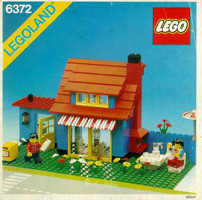 LEGO Town House Instructions 6372, City