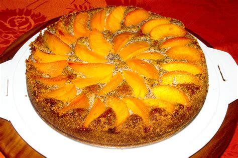 pfirsich quark kuchen pfirsich mohn quark kuchen rezepte chefkoch de