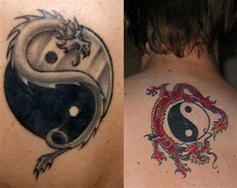 yin and yang couple tattoos yin yang tattoos designs ideas meaning me now