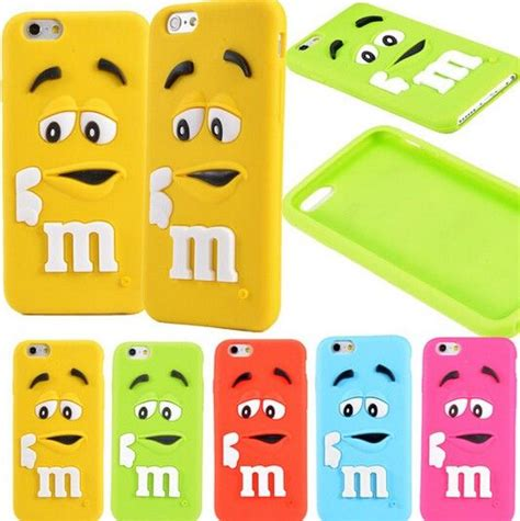 for iphone 6 6s plus 6 plus m m s chocolate rubber silicone phone cases covers