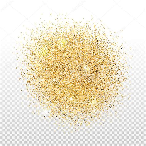 Gold Dust gold dust on transparent background gold glitter
