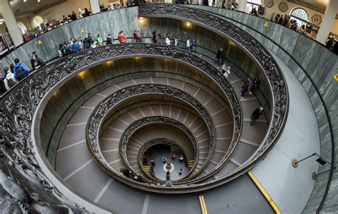 Description Vatican Museums Spiral Staircase 2012