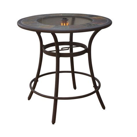 shop garden treasures lakeview 40 quot bar table at lowes