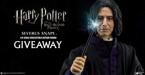 Harry Potter Giveaway - harry potter snape figure giveaway sideshow collectibles