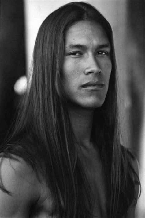 photos of long native american hair native american indian sexy long hair man long