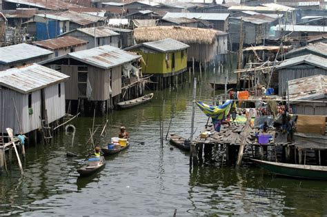 fishing boat jobs in south africa nigeria s makoko slum where up to 250 000 residents huddle