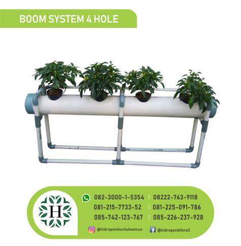 Jual Alat Hidroponik Jambi starterkit hidroponik dutchbucket boom system 4