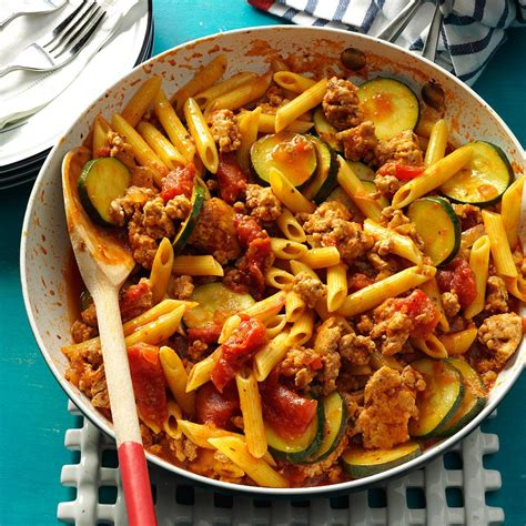 jiffy ground pork skillet recipe taste of home