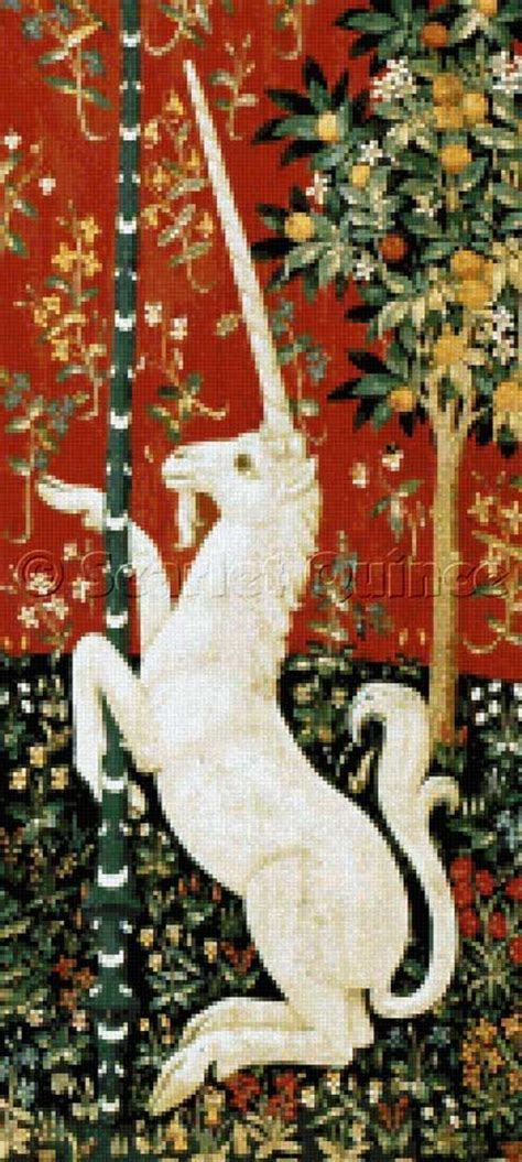 unicorn tapestry pattern best 17 medieval tapestries images on pinterest diy and