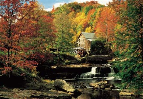 bob ross painting the mill grist mill