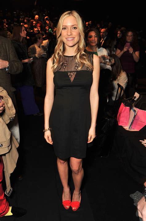 Kristin Cavallari Front Row At Conrads Fashion Show by Kristin Cavallari Threw On An Lbd And Flirty Heels For